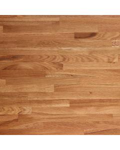 Tuscan Solid Wood Unfinished European Oak Breakfast Bar Worktop - 3000mm x 900mm x 26mm