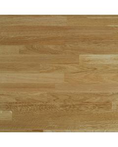 Tuscan Solid Wood Prefinished European Oak Worktop - 3000mm x 650mm x 40mm