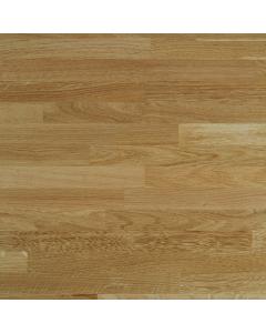 Tuscan Solid Wood Prefinished European Oak Breakfast Bar Worktop - 2400mm x 900mm x 40mm
