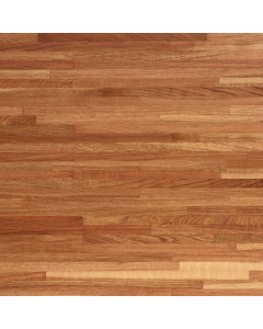 Tuscan Solid Wood Unfinished Iroko Worktop - 3000mm x 650mm x 26mm