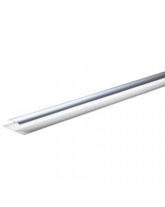 Basix 5mm H Joiner Trim - 2.7 Metre - Silver