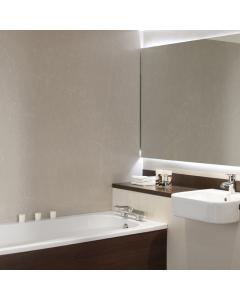 Bushboard Nuance Fini A Marble Sable Bathroom Wall Panel - Postformed - 1200mm