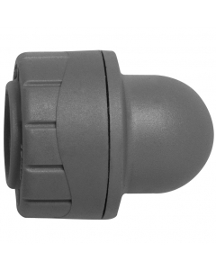 PolyPlumb Socket Blank End - 22mm