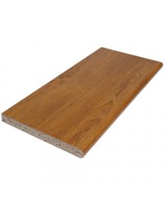 Polyboard 225mm x 22mm Internal Laminated Window Board - 5 Metre - Golden Oak