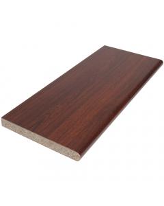 Polyboard 250mm x 22mm Internal Laminated Window Board - 5 Metre - Rosewood