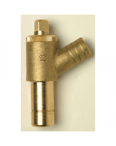PolyPlumb Spigot Drain Cock - 15mm