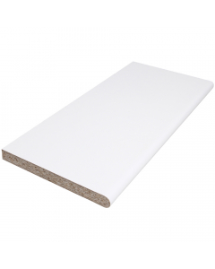 Polyboard 600mm x 22mm Internal Laminated Window Board - 3.05 Metre - White