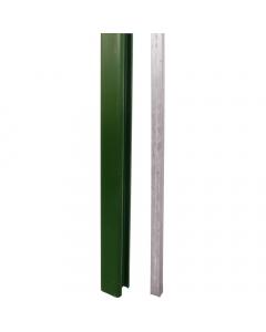 Liniar Plastic Fence Post - 9 ft - Green