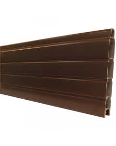 "Liniar Plastic Gravel Board - 6 ft x 12"" - Brown"