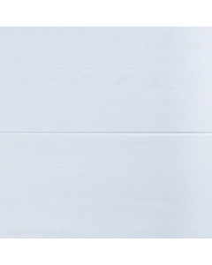 Proplas PVC White Wood Embedded High Gloss Wall Panel - 2700mm x 250mm x 8mm (4 Pack)