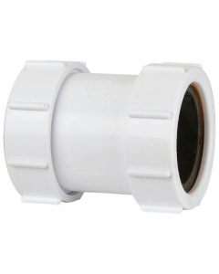 Polypipe 32mm Compression Waste Straight Coupler