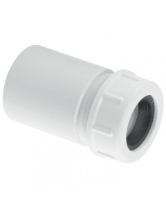 """McAlpine Waste Reducer in ABS - 1 ¼"""" Plain Tail to 19-23mm Universal Connection"""