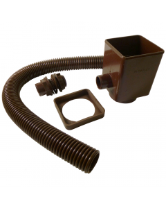 Marley Rain Water Diverter - Brown