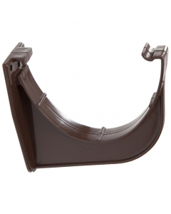 Polypipe 117mm Polyflow Deep Capacity Gutter Fascia Bracket - Brown