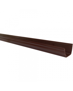 Polypipe 117mm Sovereign High Capacity Gutter - 2 Metre - Brown