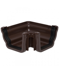 Polypipe 117mm Sovereign High Capacity Gutter 90 Degree External Angle - Brown
