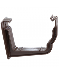 Polypipe 117mm Sovereign High Capacity Gutter Fascia Bracket - Brown