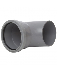 Polypipe 110mm Large Round Down Pipe Shoe - Grey