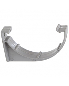 Polypipe 75mm Mini Half Round Gutter Fascia Bracket - Grey