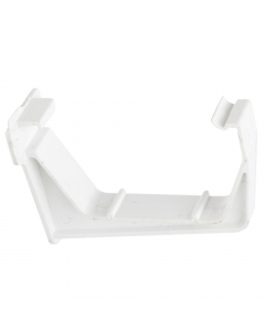Polypipe 112mm Square Gutter Fascia Bracket - White