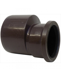 Polypipe 110mm to 82mm Push Fit Soil and Vent Reducer - Brown