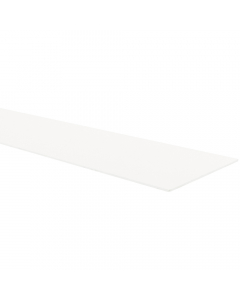Mr Plastic PVC Shower Plinth Upstand Sheet - 2440mm x 150mm x 2.5mm