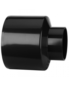 Polypipe 110mm Push Fit Soil and Vent to Waste Reducer - Black