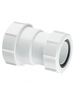 """McAlpine Waste Multifit Straight Reducing Connector - 1½"""" to 1¼"""""""