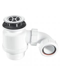 "McAlpine 50mm Water Seal Resealing Shower Trap - 1½"" (70mm CP Plastic Flange)"