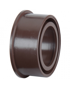 Polypipe 32mm Solvent Soil Boss Adaptor - Brown