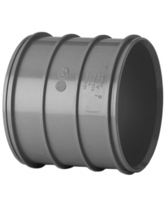 Polypipe 110mm Solvent 2000 Soil and Vent Double Socket Coupler