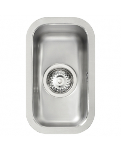 Tuscan Florence Stainless Steel Undermount Sink - 0.5 Bowl