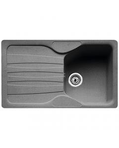 Tuscan Empoli Granite Inset Sink - 1 Bowl - Stone Grey