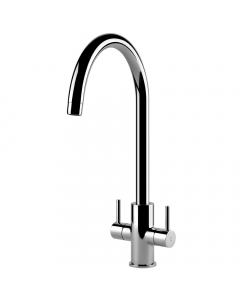 Tuscan Pompino Kitchen Tap - Chrome