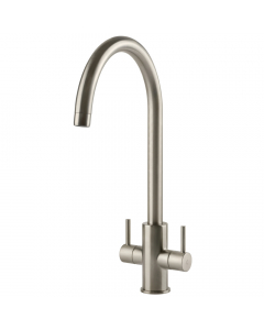 Tuscan Pompino Kitchen Tap - Brushed