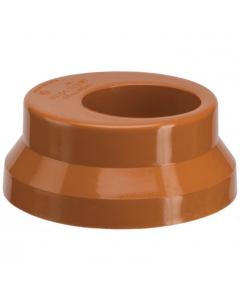Polypipe 82mm Underground Drainage to 68mm Round Rainwater Down Pipe Adaptor