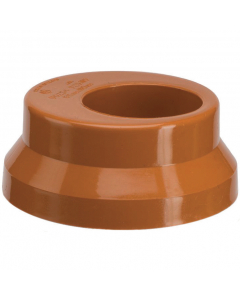 Polypipe 110mm Underground Drainage to 68mm Round Rainwater Down Pipe Adaptor
