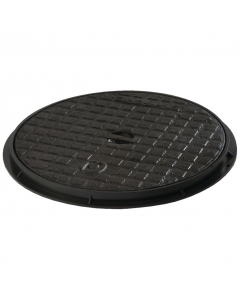 Polypipe Underground Drainage Round Cast Iron Cover and Frame - 460mm