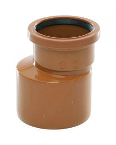 Polypipe 110mm to 82mm Underground Drainage Level Invert Reducer