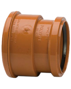 Polypipe 110mm Underground Drainage Super Clay to PVC Socket Adaptor