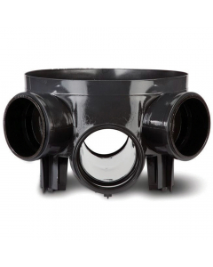 Polypipe Underground Drainage Access Chamber Base - 320mm x 170mm