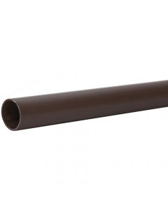 Polypipe 40mm Push Fit Waste Pipe - 3 Metre - Brown