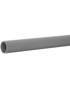 Polypipe 40mm Push Fit Waste Pipe - 1.5 Metre - Grey