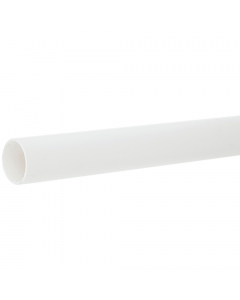 Polypipe 40mm Push Fit Waste Pipe - 1.5 Metre - White