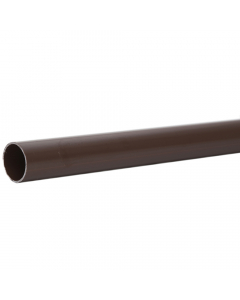 Polypipe 40mm Solvent Weld Waste Pipe - 3 Metre - Brown