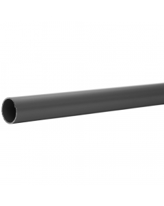 Polypipe 40mm Solvent Weld Waste Pipe - 1.5 Metre x 2 - Grey