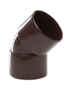 Polypipe 32mm Solvent Weld Waste 45 Degree Obtuse Bend - Brown