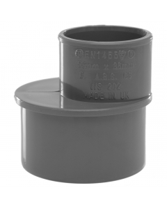 Polypipe 50mm to 32mm Solvent Weld Waste Reducer - Grey