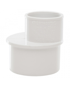 Polypipe 50mm to 32mm Solvent Weld Waste Reducer - White