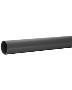 Polypipe 50mm Solvent Weld Waste Pipe - 1.5 Metre - Grey